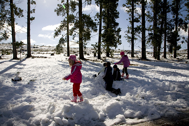 SNOW PATROL WITH KIDS IN TOW