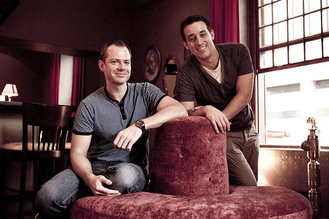 Jon Keevy and Nicholas Spagnoletti
