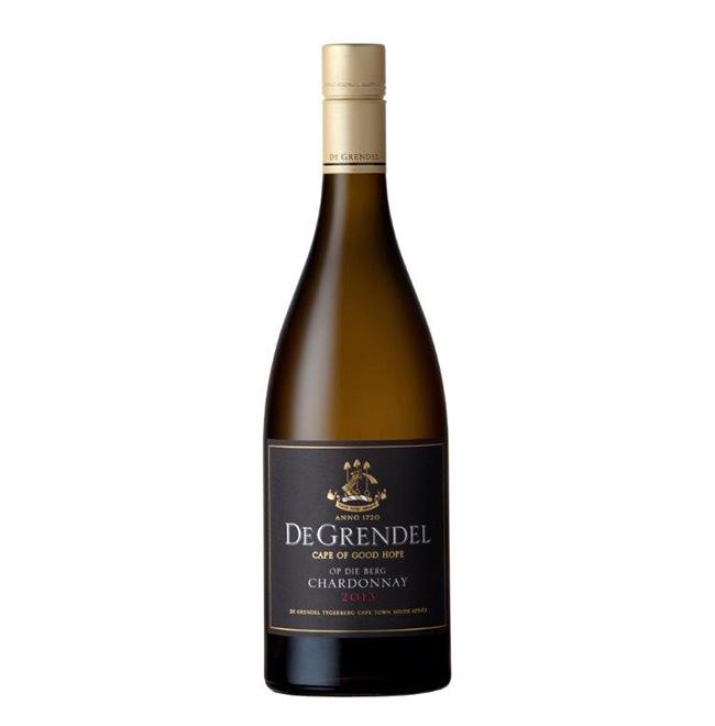 De Grendel Op Die Berg Chardonnay 2013 Pack shot