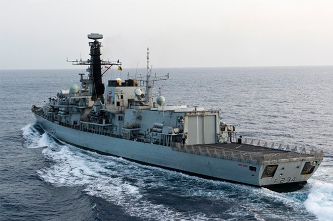 21 GUNS FOR HMS IRON DUKE