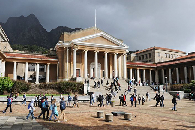 UCT TOP UNI IN AFRICA