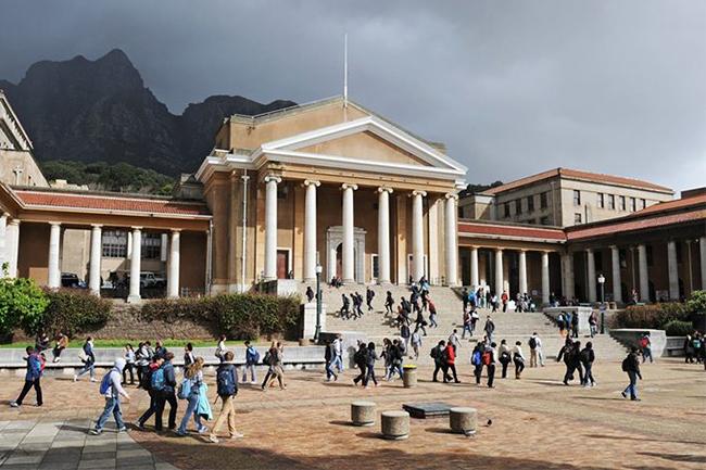 UCT TOP UNI IN AFRICA
