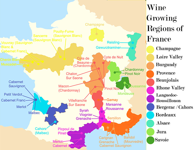 Committing all this to memory and navigating the labels of French wines should be a doddle