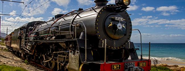 Steam Train Ride To Spier
