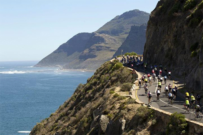 Road closures for Cape Town Cycle Tour