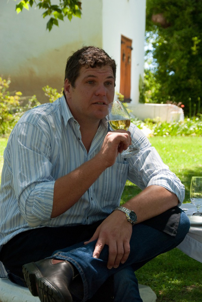 Niëll Groenewald has been Bellingham's chief winemaker since 2004