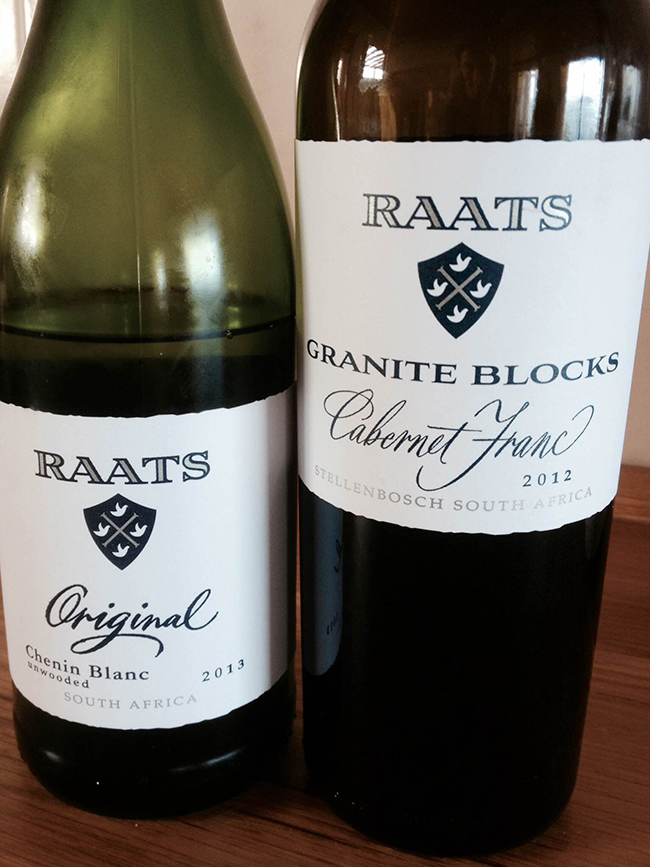 Perfection through focus. Winemaker Bruwer Raats specialises in Chenin Blanc and Cabernet Franc only