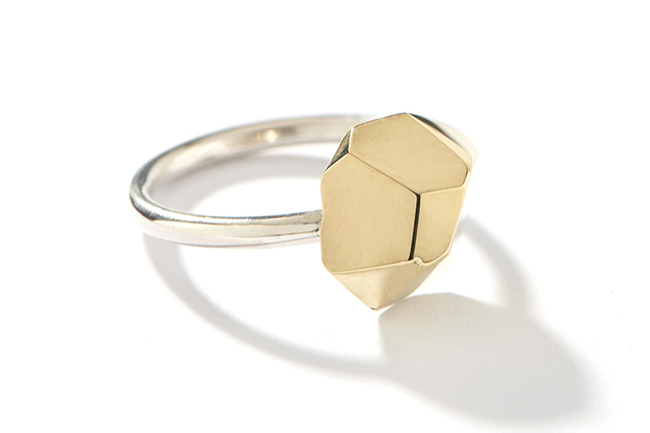 Famke Geo-top ring