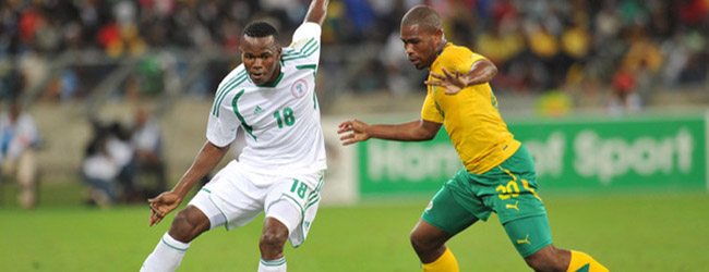 BAFANA BAFANA VS NIGERIA IN AFCON CUP QUALIFIER