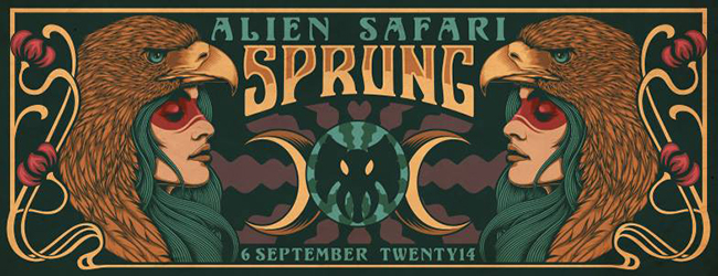 ALIEN SAFARI – SPRUNG!
