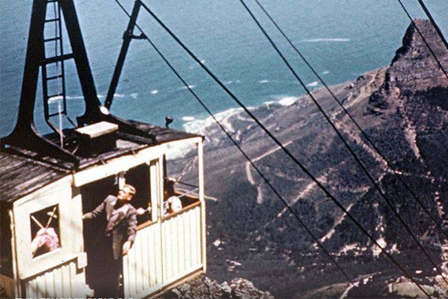 The first cable car