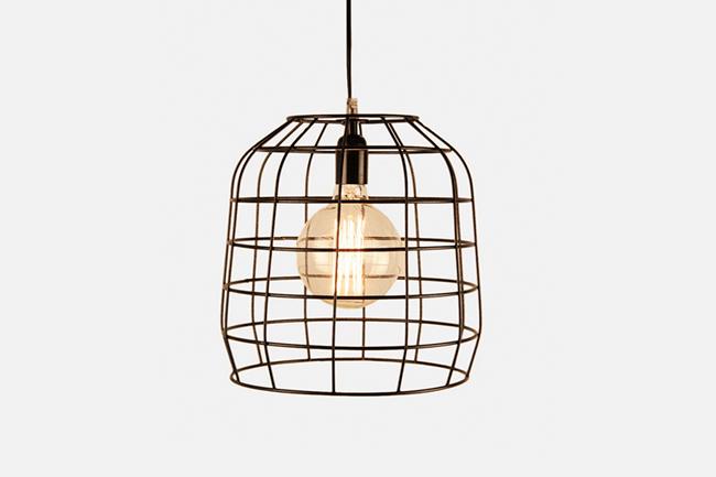 Cage-pendant-light
