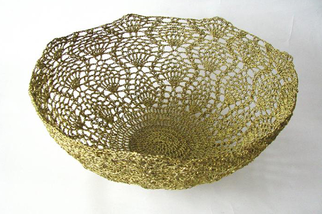 Moonbasket crochet bowl