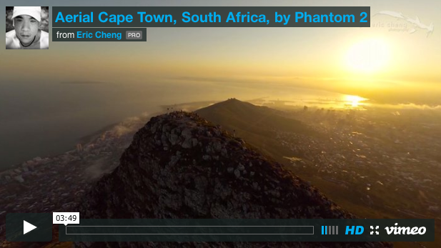Aerial view of Cape Town on capetownetc.com