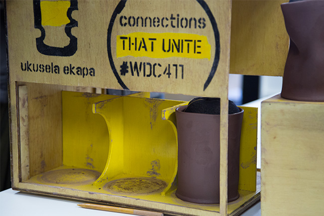 Clever crates to transport the precious vessels safely, designed by first-year UCT architecture students