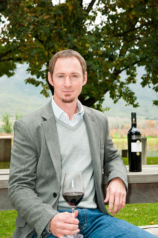 Winemaker Dewaldt Heyns