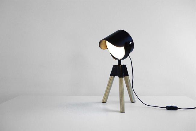 Sutla, design, style, Cape Town, Cape Town Etc, Rookie lamp, desk, lamp, lighting, interior, sustainability