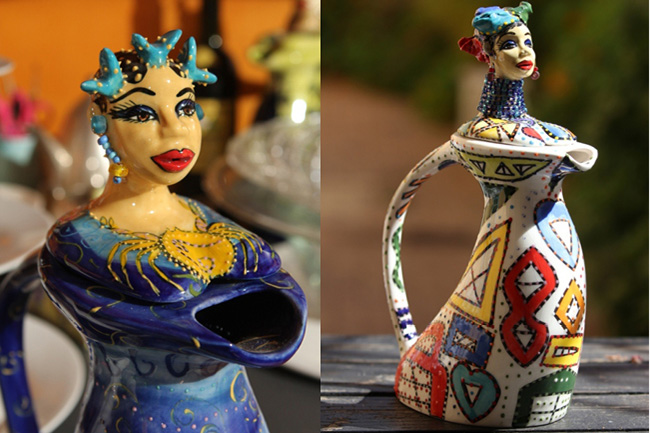 African Teapots by Tanya Nockler-Golding