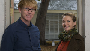 Julia Stephenson and Devin Herd on capetownetc.com