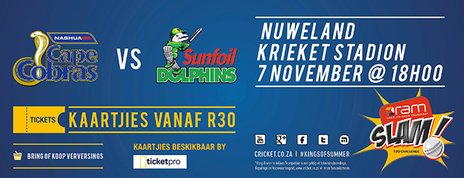COBRAS VERSUS DOLPHINS IN T20 CRICKET