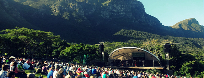 CAPE TOWN FOLK AND ACOUSTIC MUSIC FESTIVAL AT KIRSTENBOSCH