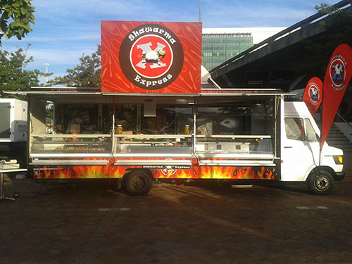 Shawarma Express by capetownetc | cape town