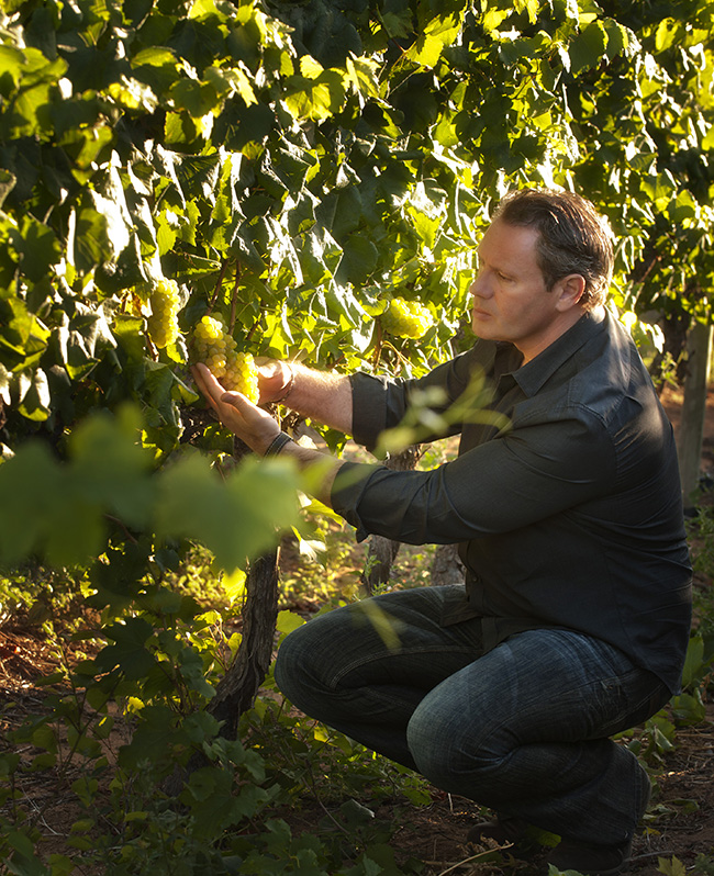 French winemaker Christophe Durand has been making wine since 2000 and learned everything through passion, hard work and intuition.