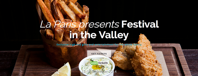 FESTIVAL IN THE VALLEY
