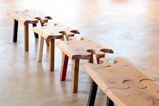 Pierre Cronje puzzle bench
