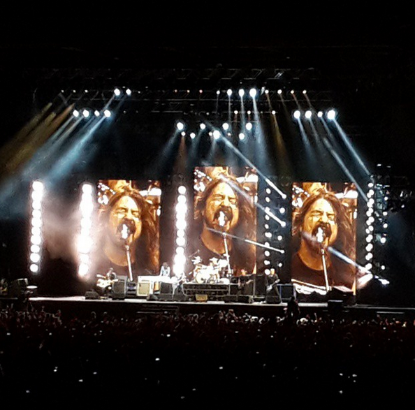 FOO FIGHTERS ROCK CAPE TOWN
