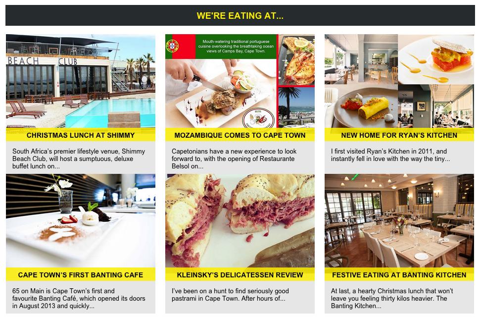 Cape Town Etc Dine
