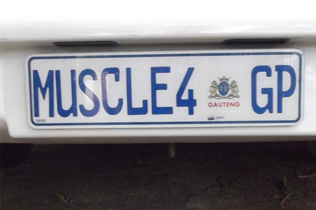 HELLO GP NUMBER PLATES