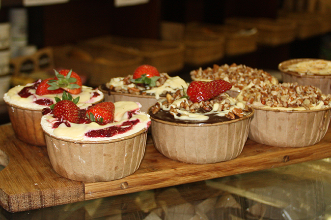 Carb free cakes