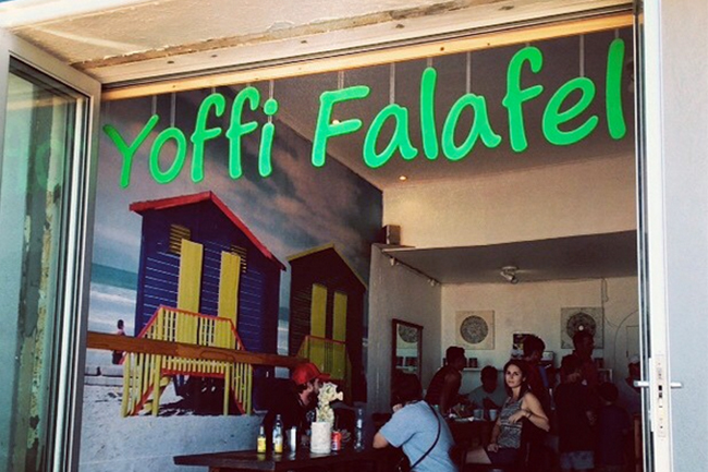 YOFFI, THE TEMPLE OF FALAFEL