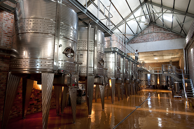 4.WINERY AT BABYLONSTOREN