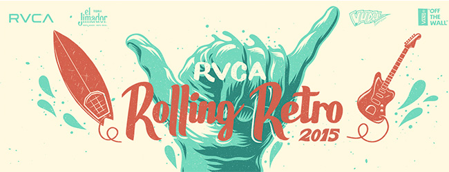 RVCA ROLLING RETRO