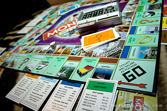 VOTE FOR CAPE TOWN TO FEATURE IN THE MONOPOLY ANNIVERSARY EDITION