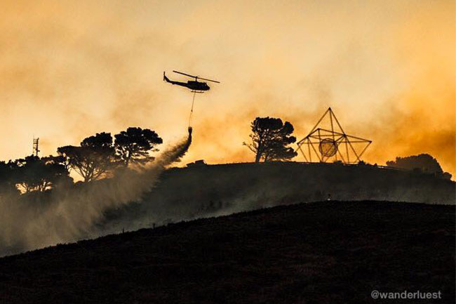 SIGNAL HILL FIRE: VIDEOS AND REACTIONS