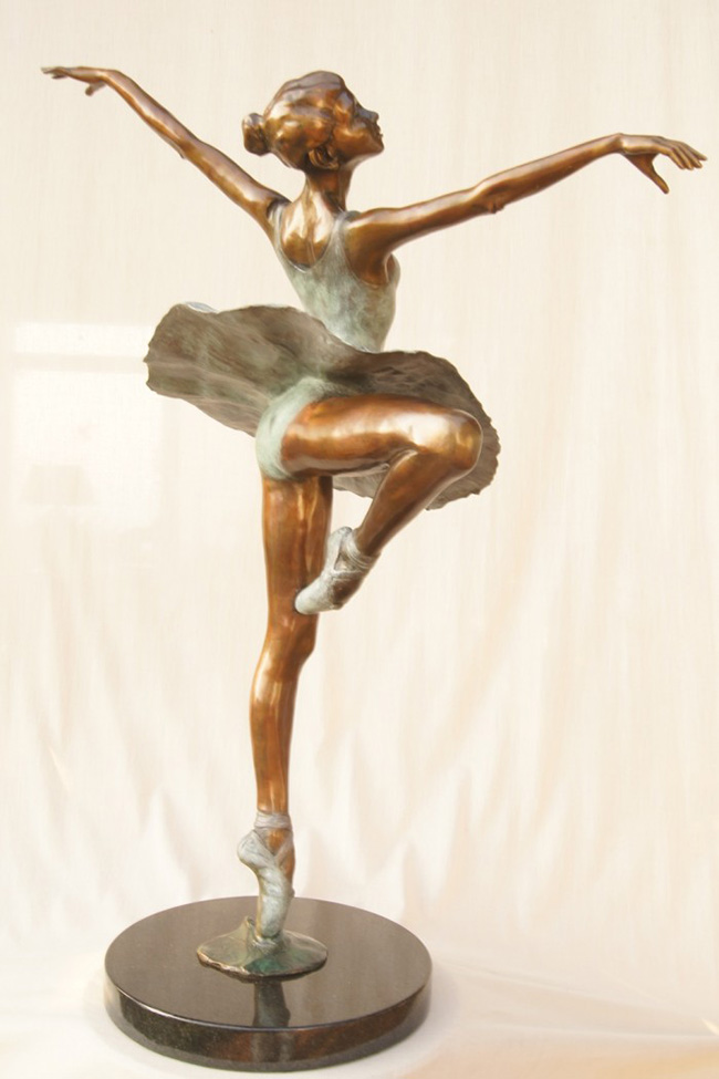 """Centre Point- Dancing Ballerina"" By Llewellyn Davies"