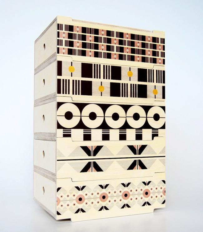 2DO Stackable Storage Tower By De Steyl + Renée Rossouw Studio