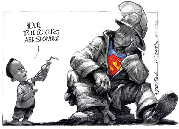 Africartoons Cape Fire