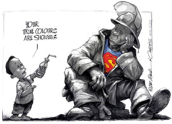 Africartoons Cape Fire