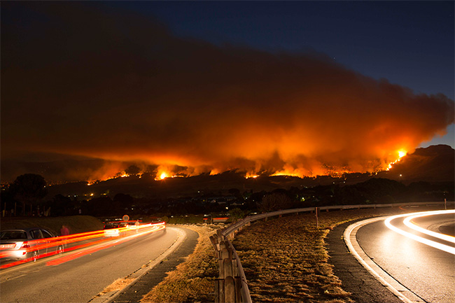 THE LATEST ON CAPE FIRE (PLUS GALLERY)