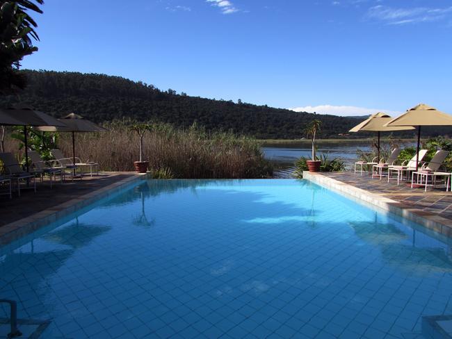 Lake pleasant outside splash pool