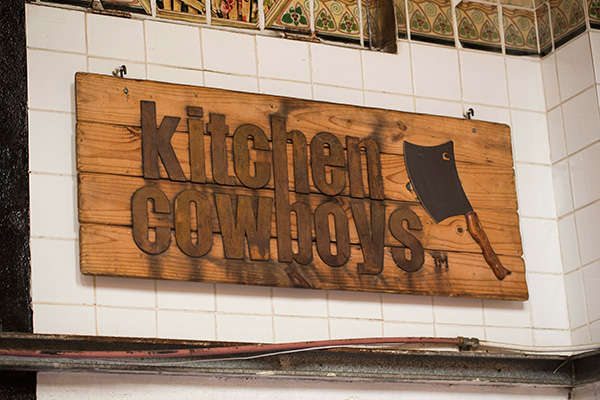 Pete-Goffe-Wood-Kitchen-Cowboys-sign