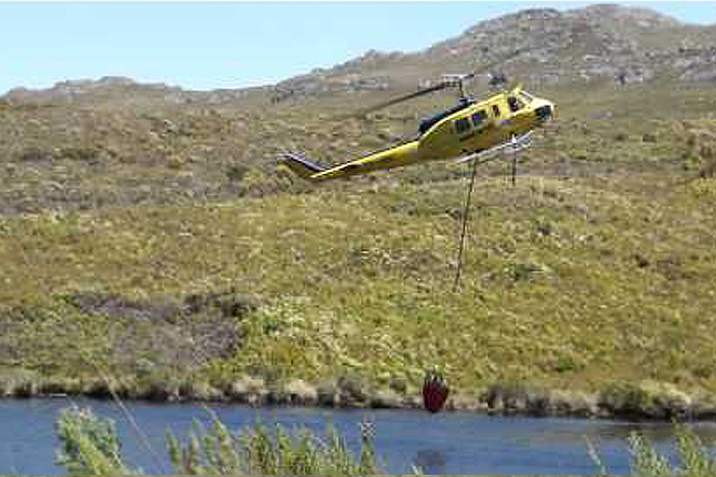 BREAKING: FIREFIGHTING CHOPPER CRASHES IN CAPE POINT, ONE FATALITY