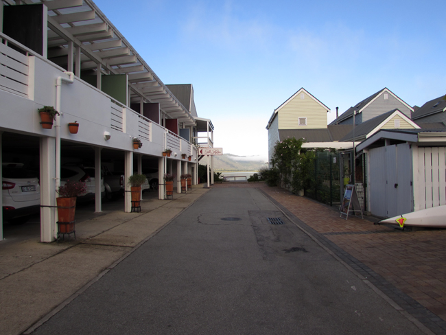 knysna lofts outside entrance
