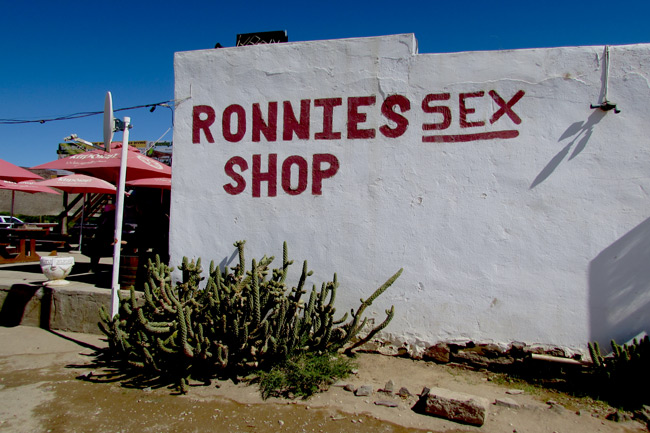 A KAROO TREASURE CALLED RONNIES SEX SHOP