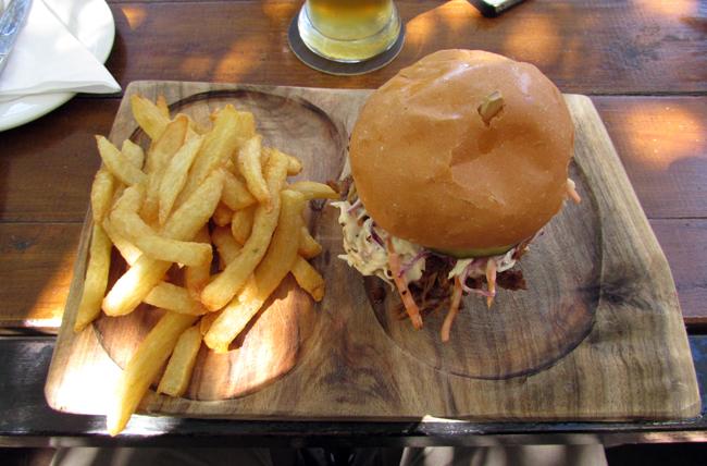 wagon trail pulled pork sandwich