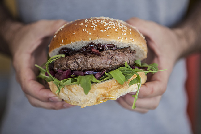 BREE STREET, MEET THE NEW INSIDE & YOU'RE OUT BURGER